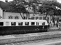 Vasútállomás, Ganz gyártmányú Árpád sorozatú (TAS) sínautóbusz. Fortepan 23258.jpg
