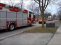 Vaughan Fire at a house fire in April 2013.png