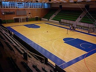 Vejlby-Risskov Idrætscenter - Image: Vejlby Risskov Hallen 01