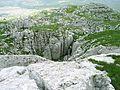 Velez, rozbrazdeny vrcholovy hreben.jpg