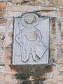 Venezia - San Giacomo dall'Orio - belltower relief.JPG
