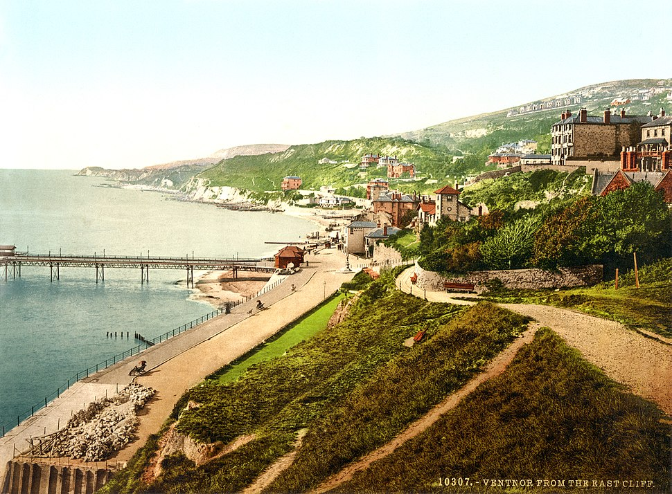 Ventnor, Isle of Wight, England, ca. 1899