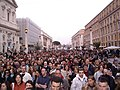 Via della Conciliazione, papal funeral.jpg
