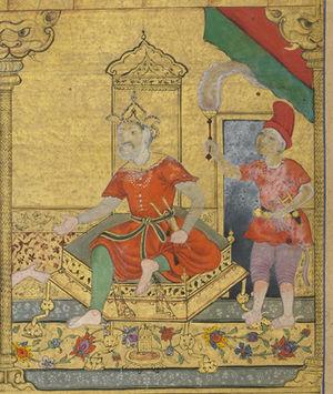 Vibhishana - Vibhishana as King of Lanka