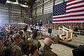 Vice President Mike Pence delivers remarks to American troops in Afghanistan.jpg