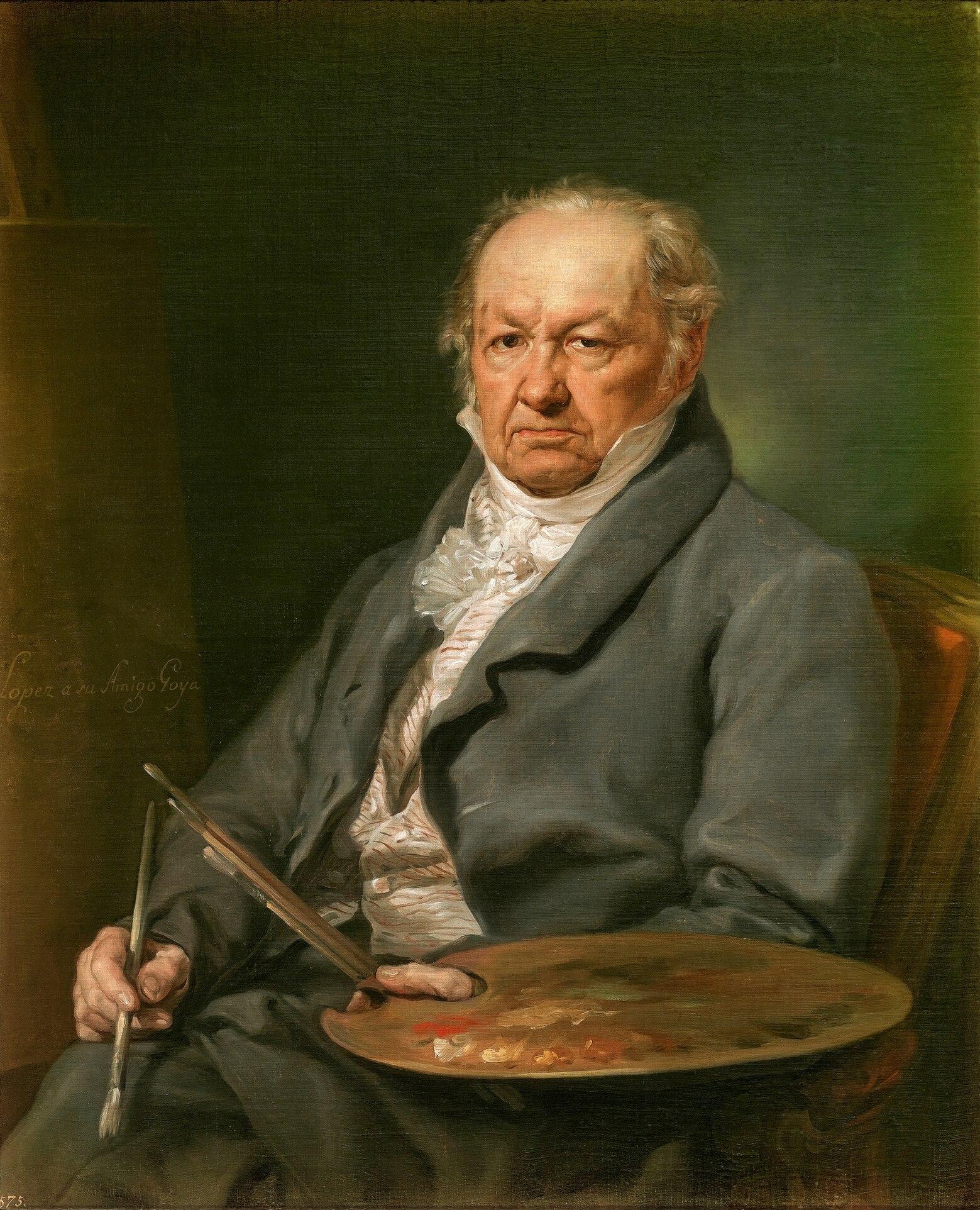 フランシスコ・デ・ゴヤ(Francisco José de Goya y Lucientes)Wikipediaより
