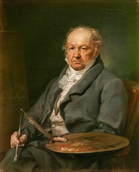 File:Vicente López Portaña - el pintor Francisco de Goya.jpg