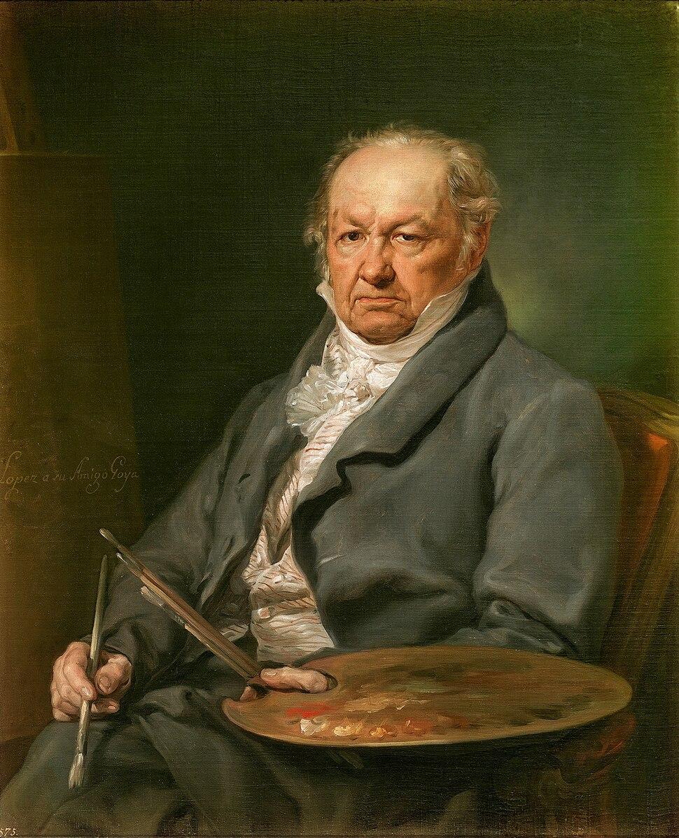 Vicente López Portaña - el pintor Francisco de Goya
