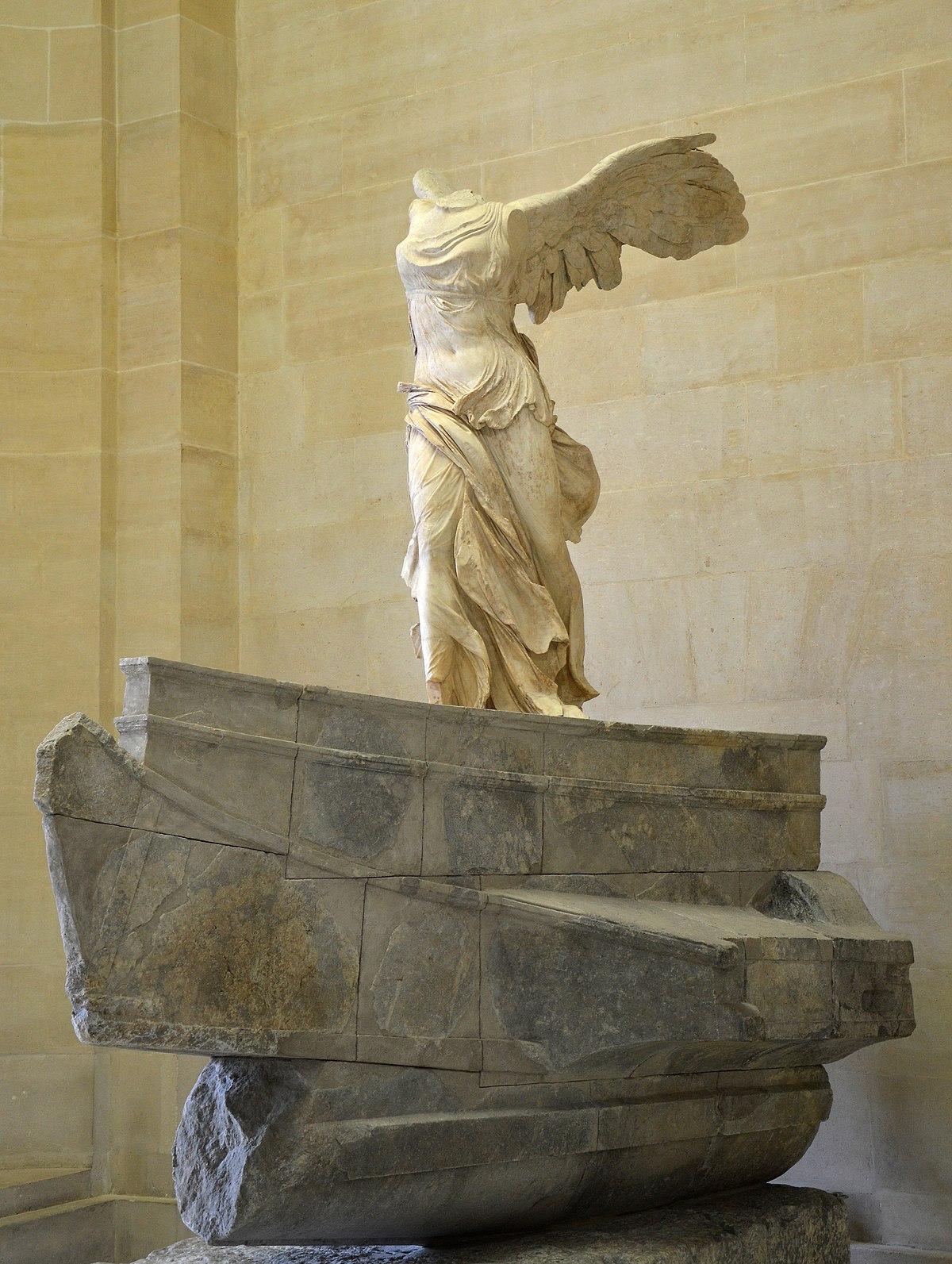 Victoire de Samothrace — Wikipédia