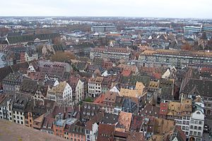 View from Notre-Dame de Strasbourg, 2007.jpg