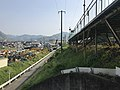 View from stairs in front of Kawanishi Station.jpg