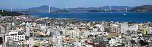 Geiyo Islands - Image: View of Imabari