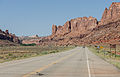 View of Utah State Route 313 near the intersection with US 191 20110815 1.jpg