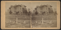View of a damaged house with collapsed roof, by William Allderige.png