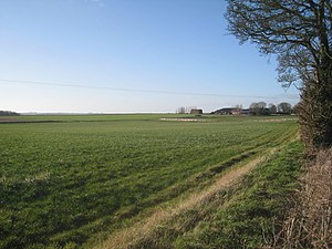 Beesby with Saleby - View toward Beesby Grange