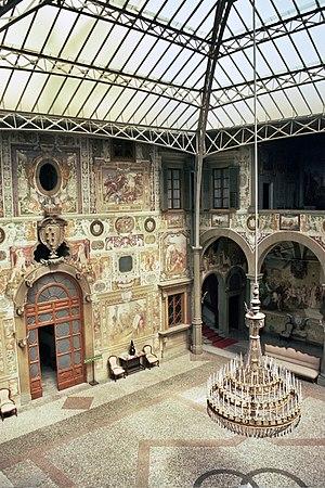 Villa La Petraia - Villa La Petraia, inner court