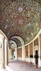 Affreschi del porticato di Villa Giulia (destra)