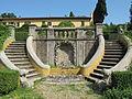 Villa schifanoia, giardino, seconda terrazza inferiore 03.JPG