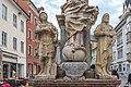 Villach Innenstadt Hauptplatz Dreifaltigkeitssäule Ausschnitt 08052019 6701.jpg