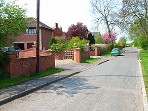 Little Stainton - Image: Village street, Little Stainton geograph.org.uk 167531