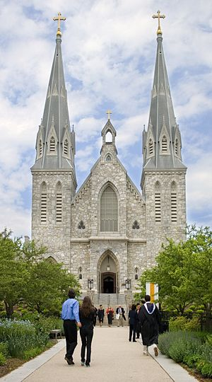 Villanova, Pennsylvania - St. Thomas of Villanova Church, on the campus of Villanova University
