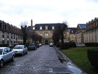 La cour intérieure du Château François Ier.
