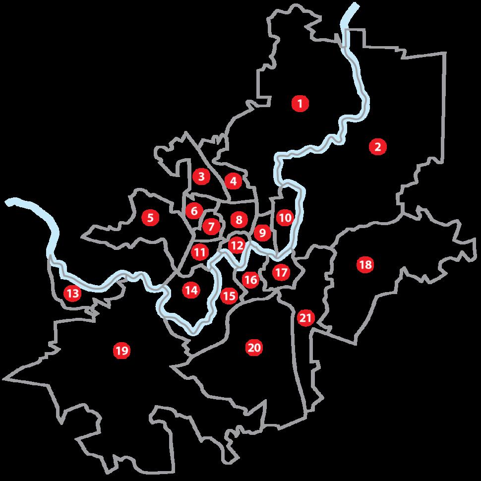 Vilniaus seniunijos numeracija