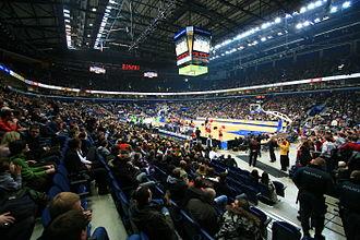 Siemens Arena - Image: Vilnius Siemens Arena 20081124