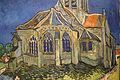 Vincent Van Gogh, la chiesa di auvers-sur-oise, 1890, 03.JPG
