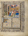 Virgil Master (French, active about 1380 - 1420) - Alchandreus Presents His Work to a King - Google Art Project.jpg