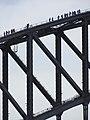 Visitors atop Sydney Harbour Bridge - Sydney - Australia (11202835925).jpg