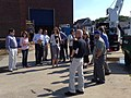 Visitors from Capitol Hill, the research community and NSF check out R-V Sikuliaq during the ship's visit to Woods Hole (14970296296).jpg