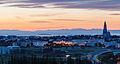 Vista de Reikiavik desde Perlan, Distrito de la Capital, Islandia, 2014-08-13, DD 146-148 HDR.JPG