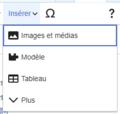 VisualEditor Media Insert Menu-fr.png