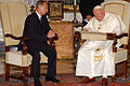 Vladimir Putin in the Vatican City 5 November 2003-2.jpg