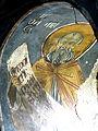 Voskopojë St.Nikolaos - Vohalle Fresko 2b Heilige.jpg
