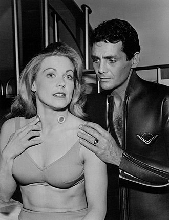 Zale Parry - Parry with David Hedison as a guest star on Voyage to the Bottom of the Sea, 1965