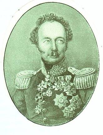 Friedrich Wilhelm von Bismarck - Friedrich Wilhelm von Bismarck in the uniform of the 20th Ulans