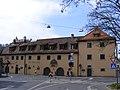 Würzburg - Alte Mainmühle (straßenseitige Gebäudeansicht).JPG
