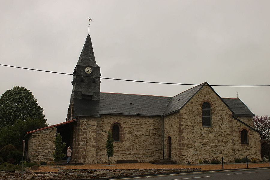 Église Saint-Philbert, XII°-XIV°-XVII°-XVIII°, Fr-49-Saint-Philbert-en-Mauges.