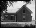 WEST ELEVATION - John Reichard House, State Route 92 vicinity, Knoxville, Marion County, IA HABS IOWA,63-KNOX.V,1-15.tif
