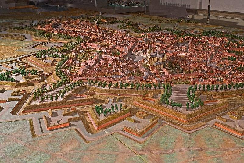 File:WLANL - mennofokke - Maquette Bergen op Zoom 1747 (Sterkste vesting van de Republiek de Verenigde Nederlanden).jpg