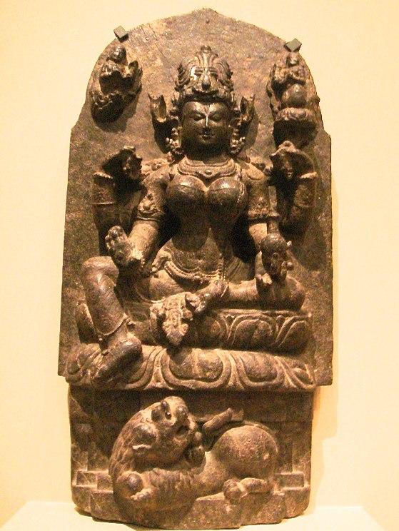 WLA lacma Hindu Goddess Parvati Orissa
