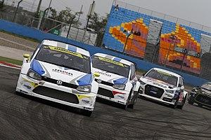 2014 World RX of Turkey - Anton Marklund, Toomas Heikkinen and Edward Sandström