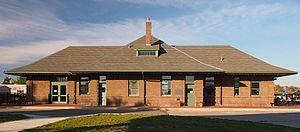 Wadena, Minnesota - Image: Wadena Depot