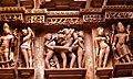 Wall frescoes of the Khajuraho temples.jpg