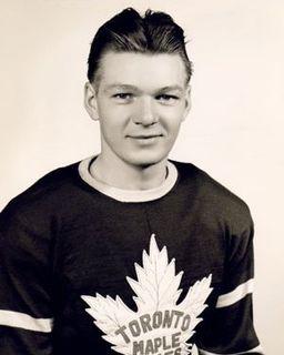 Wally Stanowski Canadian ice hockey defenceman