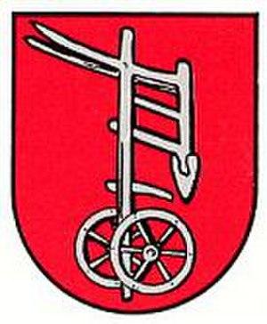 Einöd - Image: Wappen Einöd (Homburg)