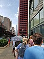 Warren supporters with the Trump Tower in the distance 20190628 163704.jpg