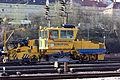 Wartungszug - Schienensäuberung - Einfahrt Bahnhof Treuchtlingen (Bayern) (13515422615).jpg